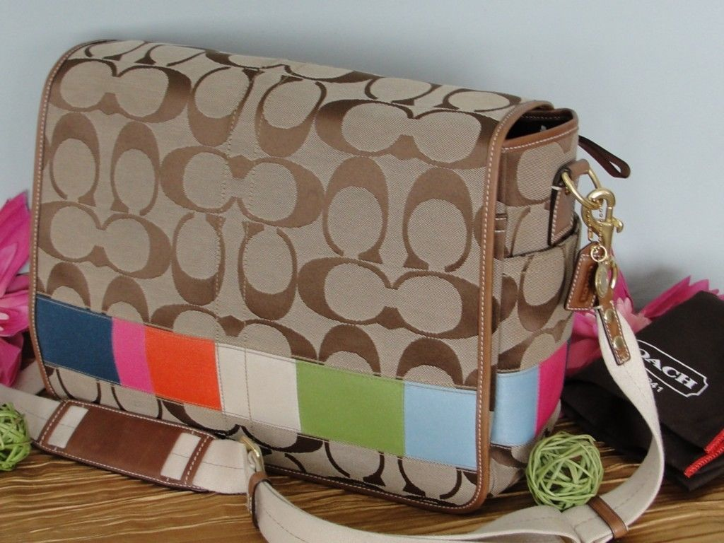 Coach Diaper Bag Handbags And Purses