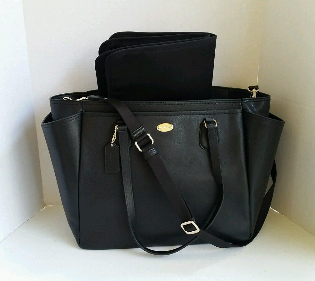 leather diaper bag handbags and purses on bags. Black Bedroom Furniture Sets. Home Design Ideas