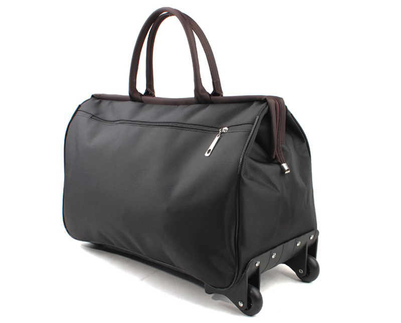 Duffel Bag With Wheels And Shoulder Straps Asian Tote Bag