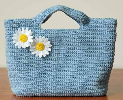 Crochet Designer Purse Patterns : Free crochet handbag patterns. Handbags and Purses on Bags-Purses.com