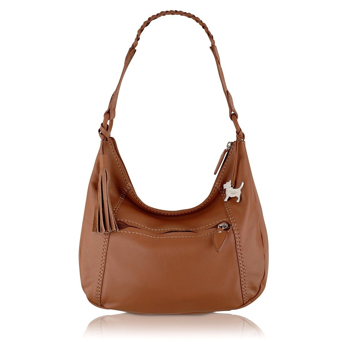 brown leather hobo bag fossil hobo bag hobo handbag