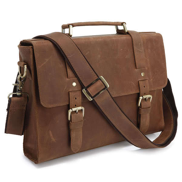 briefcase duffel bag leather messenger bag