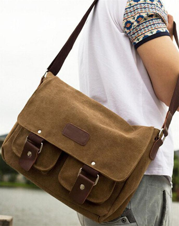 shoulder bags mens canvas bags duffle bags