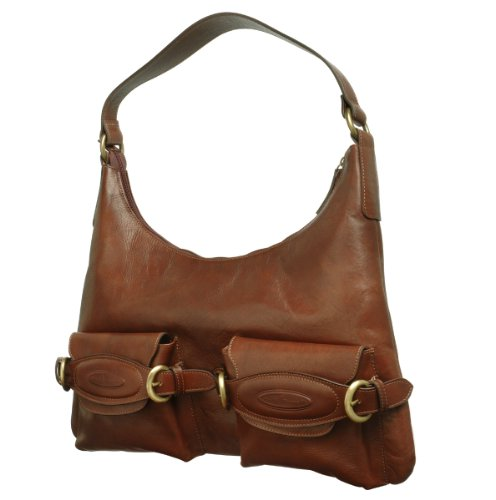 brown leather purse mary frances purse roots purse