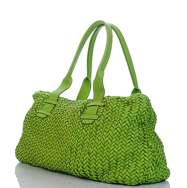 green purse small purse straw purse
